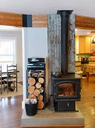 Living Rooms With Wood Burning Stoves Wood Stove Houzz