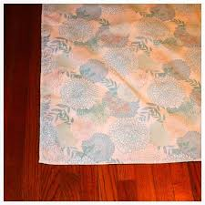 how to turn a tablecloth into a rug green homes mother earth news