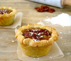 thanksgiving mini cupcakes jenny steffens hobick petite deep dish pecan pies pie recipes