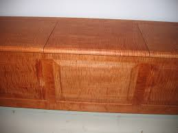 custom storage bench in curly maple a furniture maker u0027s notebook