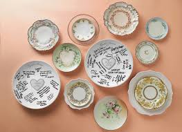 guest signing plate get creative with your guest book a giveaway the magazine