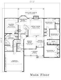 floor plans with dimensions traditional country house plan home plan 153 1440 room