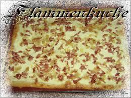 recette de cuisine alsacienne flammenkuche tarte flambée ou pizza alsacienne cuisine