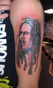 tattoo inspiration bob marley tattoo uploaded by mainstreetink