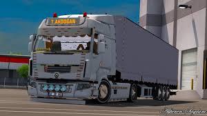 renault trucks premium tanju akdoğan renault premium tırsan trailer mod for ets 2