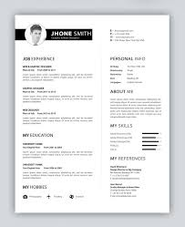 Ux Resume Template 40 Free Creative Resume Templates For Job Seekers Page 2 Of 2