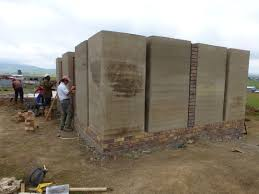 rammed earth co housing in south africa gfe structures
