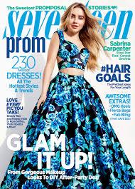 sabrina carpenter reveals her dream prom date in seventeen u0027s prom