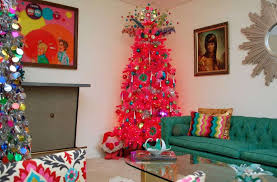 Seeking Tinsel Trendy Trees The Home Trends For 2017