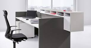 basic c reception desk modular panel based counter