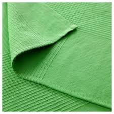 indira bedspread green 250x250 cm ikea