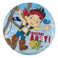 jake neverland pirates kids plates sale jake zak