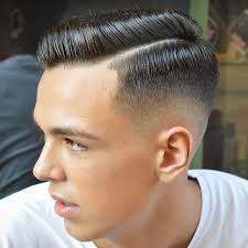 hard parting haircut side part haircut a classic gentleman s hairstyle men s