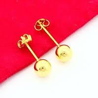 aliexpress buy new arrival fashion 24k gp gold 24k gp earring shop cheap 24k gp earring from china 24k gp earring