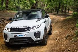 range rover convertible range rover evoque convertible review carwitter