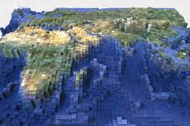 How To Use A Map In Minecraft Blocky Earth Turns Google Maps Terrain Into Minecraft Like Blocks