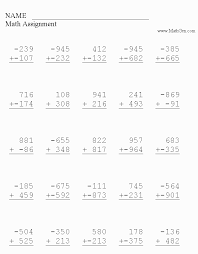 k 6 addition math worksheets printable addition worksheets