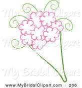 Wedding Flowers Drawing Royalty Free Stock Bridal Designs Of Wedding Flowers