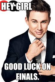 Channing Tatum Meme - channing tatum finals memes quickmeme