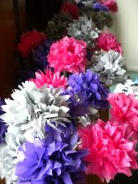 wedding centerpieces flowers my diy tissue paper flower wedding centerpieces my girlish whims
