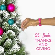 thanks and giving with st jude thirty something runner