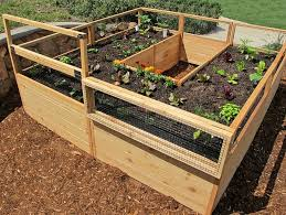 cedar complete raised garden bed kit 8 u0027 x 8 u0027 x 20