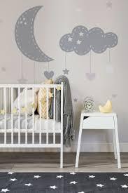 si e de mural mural de pared y estrellas para bebé neutral nurseries