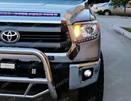 2016 toyota tundra fog light bulb toyota tundra 15w high power cree xb d fog lights fogl kit