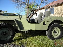 jeep cj prerunner willys jeep cj 2a full frame off restored