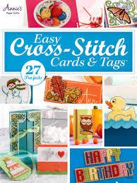 s attic easy cross stitch cards tags cross stitch