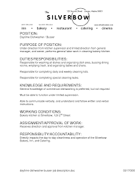 Kennel Assistant Resume Resume For Dishwasher Free Resume Example And Writing Download