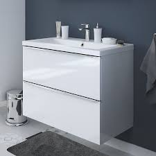 White Bathroom Furniture Bathroom Furniture Cabinets Free Standing Furniture Diy At B Q