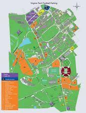 rutgers football parking map parking passes ebay