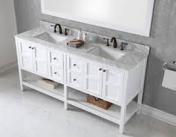 virtu usa winterfell 72 bathroom vanity cabinet in white