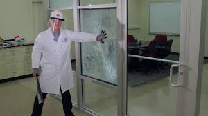 3m safety and security window film demonstration youtube