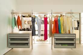 Furniture Closet Extremely Versatile Walk In Closet Dresswall By Anywaydoors