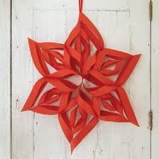 Make Your Own Christmas Decoration - paper christmas decorations sassaby blog