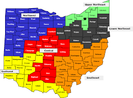 Map Of Northeast Ohio by Ohio Department Of Mental Health U0026 Addiction Services