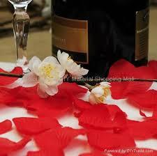 Silk Rose Petals Wholesale Silk Rose Petals As Wedding Decoration Accessories Diy