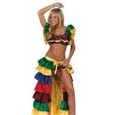 Mexican Halloween Costumes Buy Womens Mexican Dancer Mardi Gras Carnivale