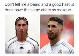 Confused Man Meme - is a beard to men what makeup is to women milkman grooming co