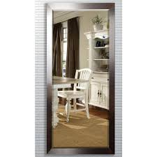 Bevelled Floor Mirror by Beige Bisque Mirrors Wall Decor The Home Depot