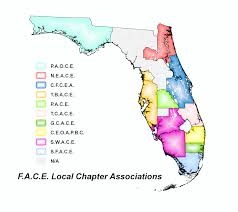 Usf Map F A C E Local Chapters Florida Association Of Code Enforcement