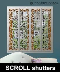 32 best decorative window shutters with laser cut fretwork images on