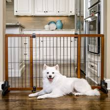 Extra Wide Gate Pressure Mounted Carlson Freestanding Pet Gate Large Petco