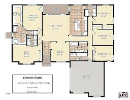 ranch house floor plan five bedroom ranch house plans image gallery of awesome house plans