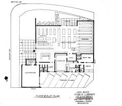 Public Library Floor Plan by Long Beach U0027s Past Los Altos Its Library And Lloyd Whaley