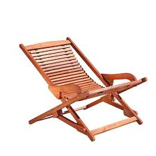 Reclining Lounge Chair Vifah Outdoor Wood Reclining Folding Lounge Brown Brown And Woods