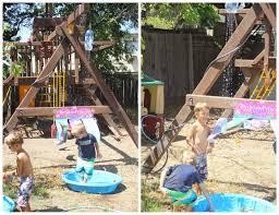 kent heartstrings backyard water park fun sayonara summer