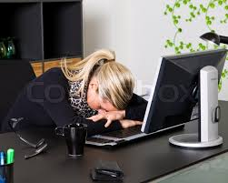 Sleeping At Your Desk Clipart Woman Sleeping At Desk Clipground